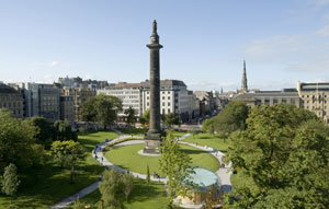 View over St Andrews Square to our offices
